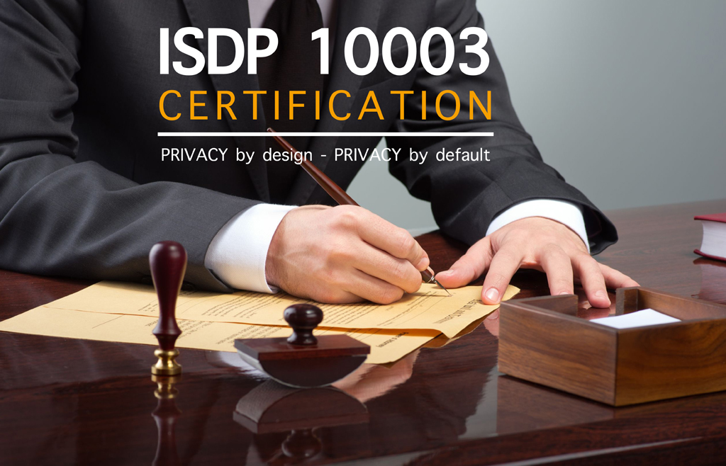 Certificazione ISDP 10003