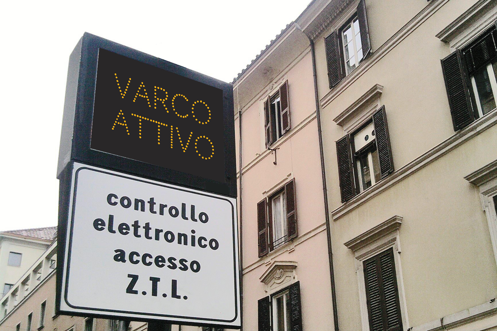 ZTL – ELFO GATE CONTROL EVO
